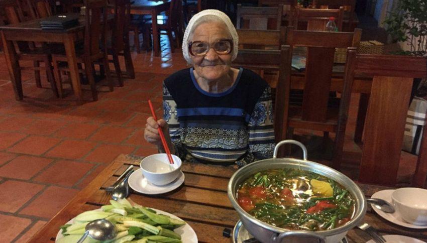 A 83 anni molla tutto e si mette a girare il mondo