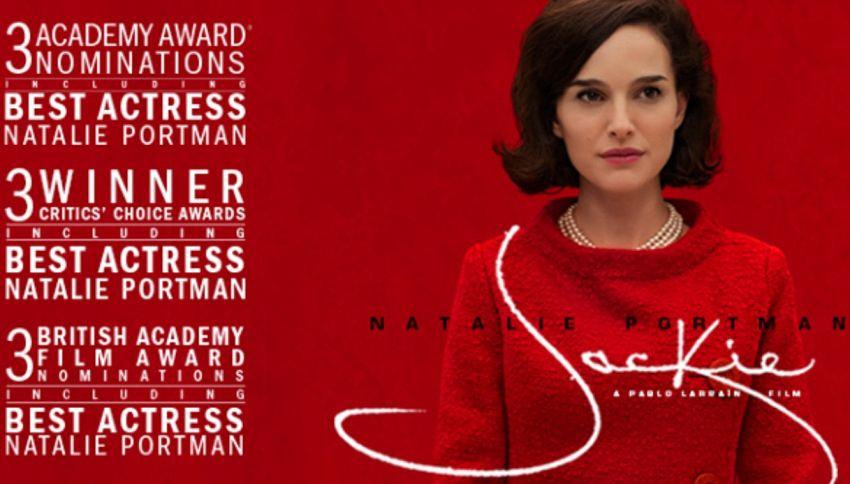 Jackie, il film su Jacqueline Kennedy con Natalie Portman