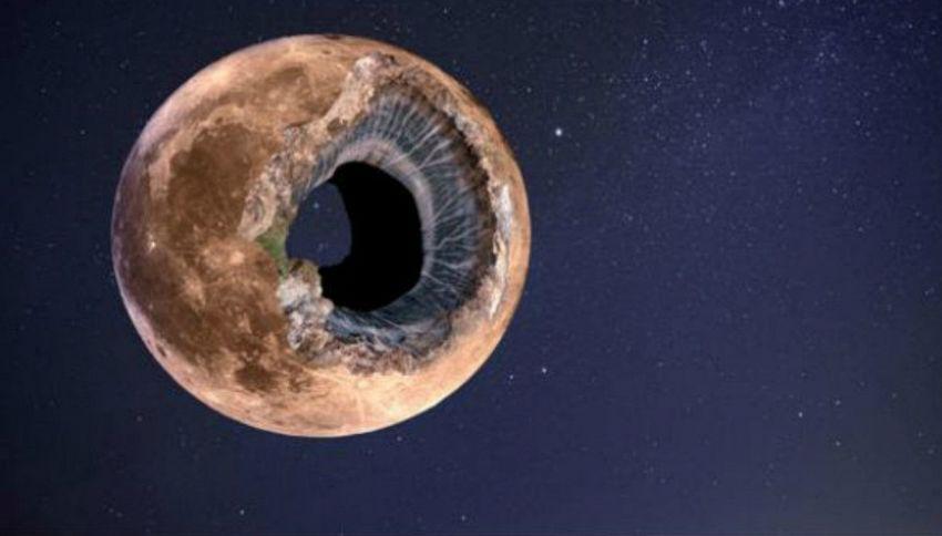La Luna è cava? Una teoria dice che è una specie di Morte Nera