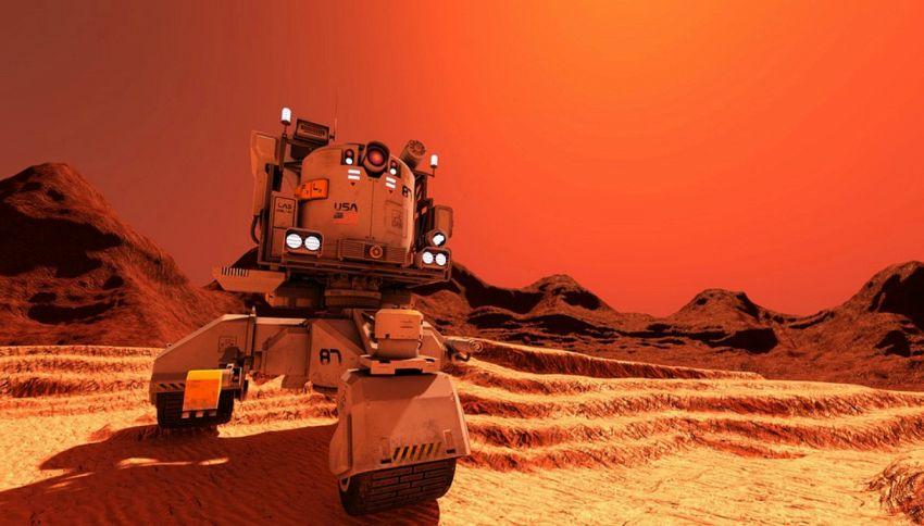 Curiosity ha trovato strani oggetti metallici su Marte