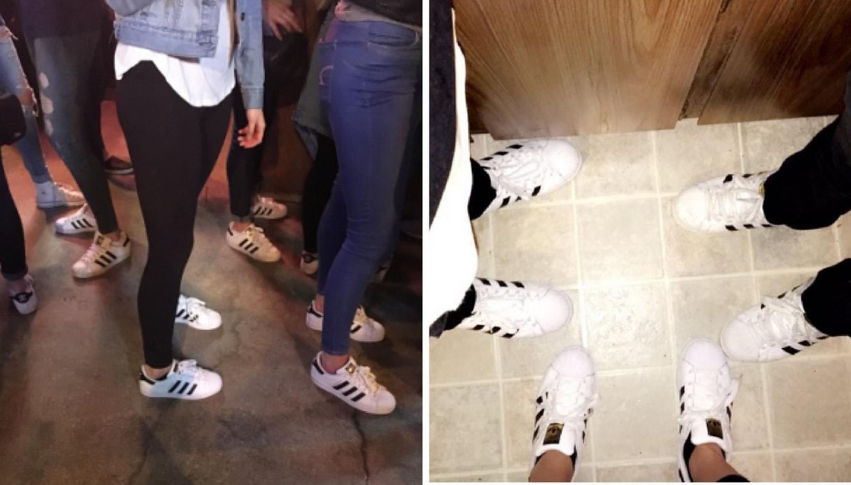 come lavare le adidas superstar bianche