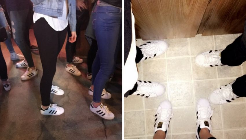 Tutti pazzi per le Adidas Superstar! Le sneaker tornano di moda