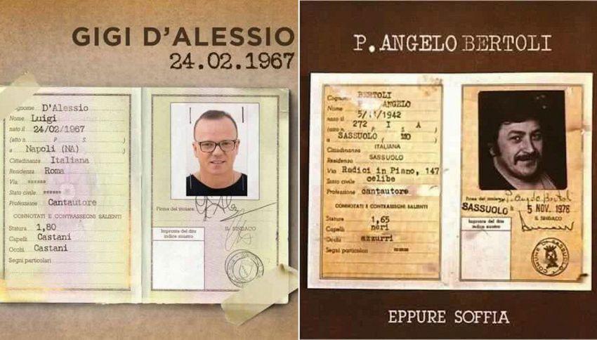 Nuova polemica per Gigi D'Alessio: copia la copertina del disco?