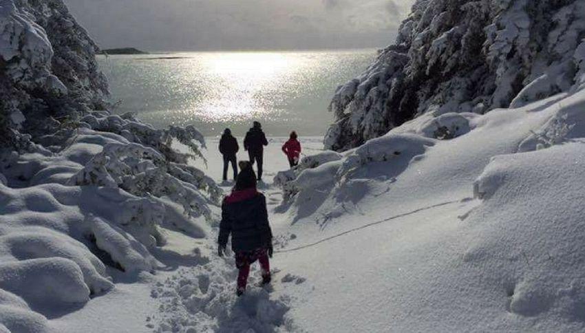 """""""Neve in Salento indica la fine del mondo"""": la profezia"""