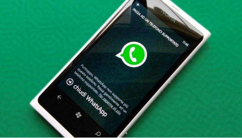 Whatsapp non funziona più su alcuni telefoni: ecco quali