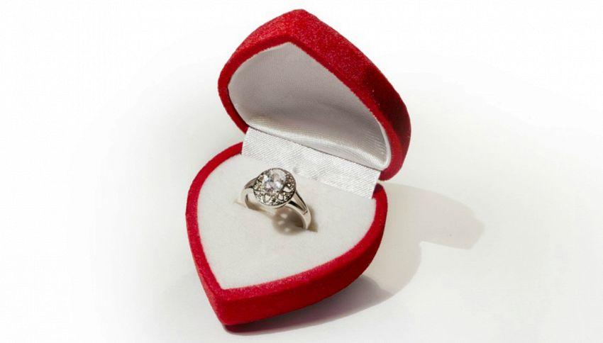 La misura del tuo anello di fidanzamento ti dice se divorzierai