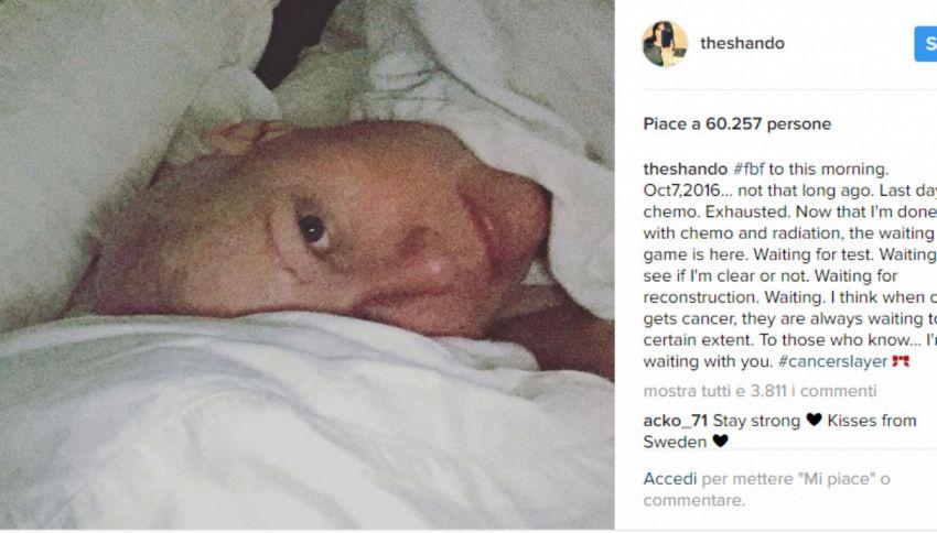 """Brenda di Beverly Hills su Instagram: """"Ho finito la chemio"""""""