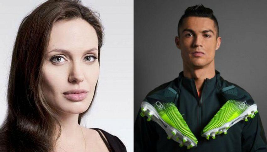 Cristiano Ronaldo attore: sul set con Angelina Jolie