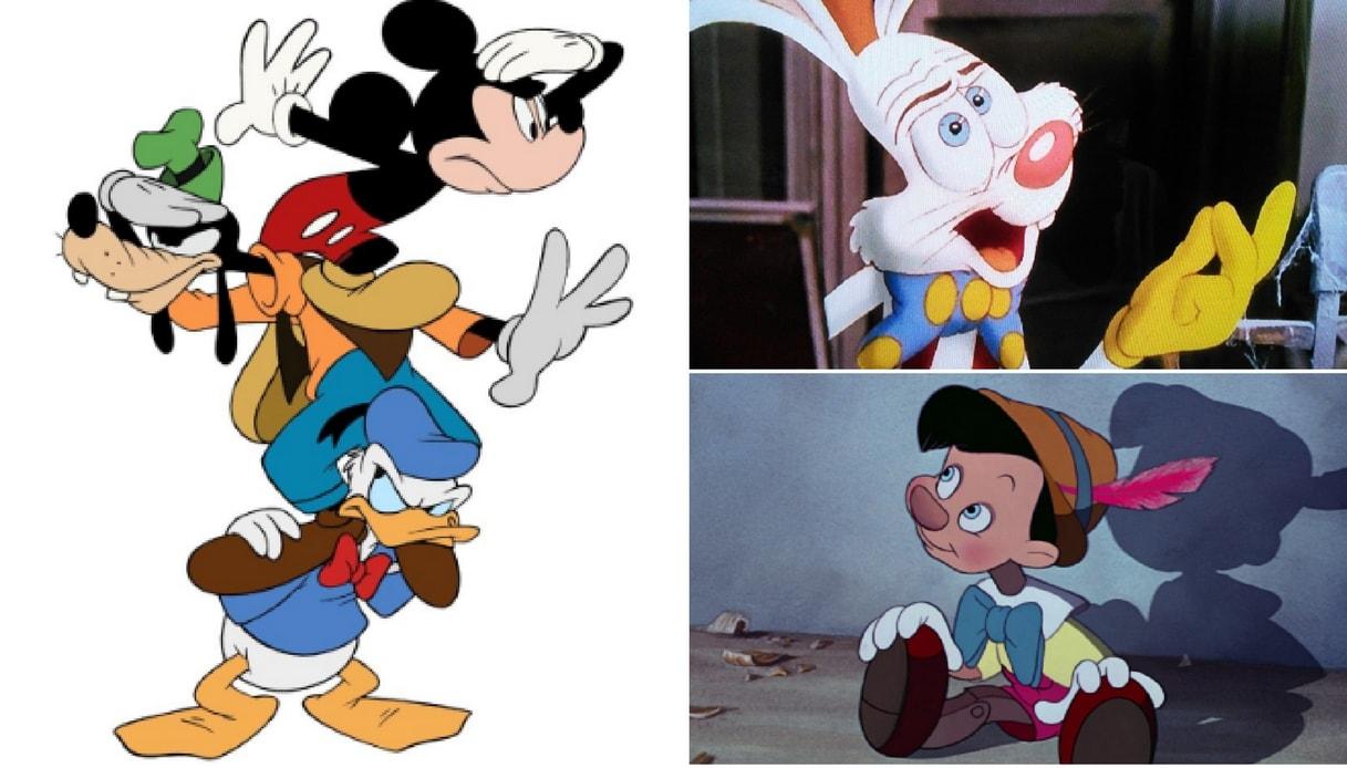 Wm topolino e amici disney cartone animato decorazione da