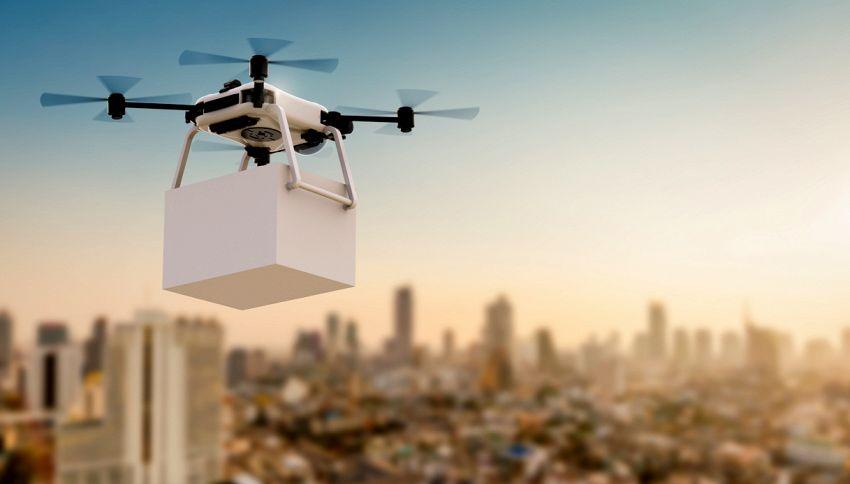Oltre 1000 droni si alzano in cielo, il video emozionante