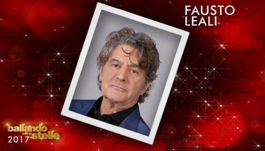 Fausto Leali: le schede del cast di Ballando con le stelle
