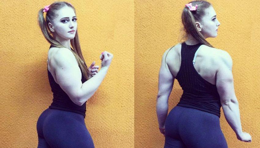 Julia Vins, la bodybuilder acqua e sapone che spopola sui social