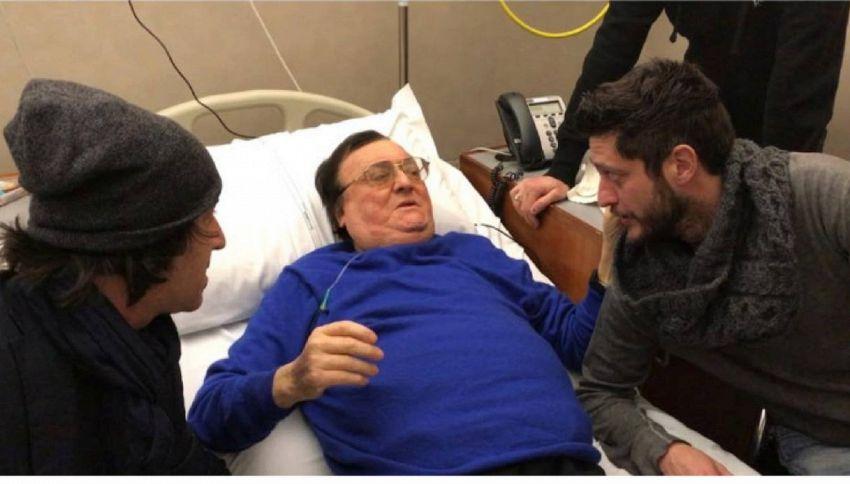 Leone Di Lernia sta meglio ed è uscito dall'ospedale