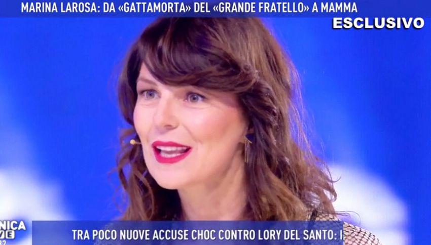 """La nuova vita di Marina La Rosa: """"Mi salvò Taricone"""""""
