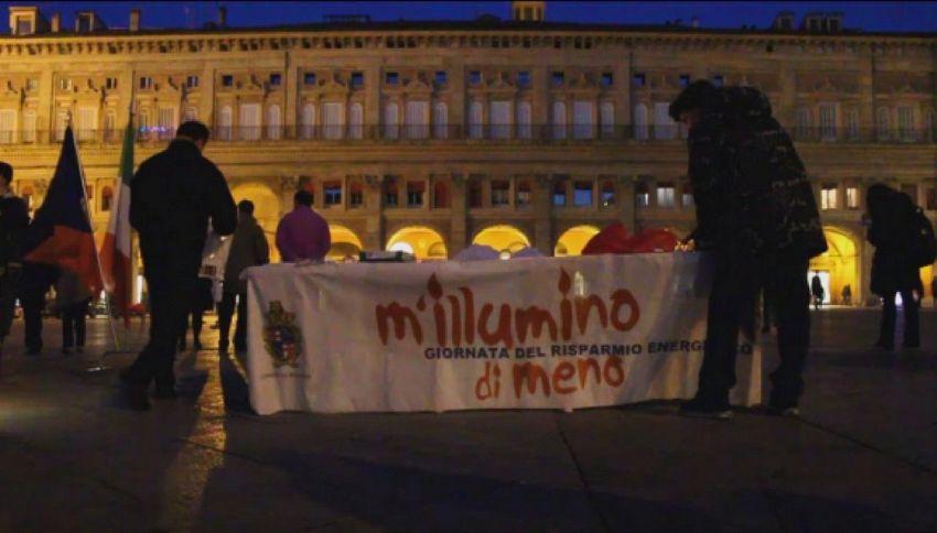 M'illumino di meno, l'Italia si spegne per risparmio energetico
