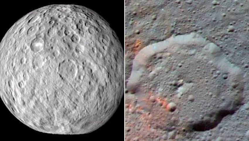 Trovate tracce di vita extraterrestre sul pianeta nano Cerere