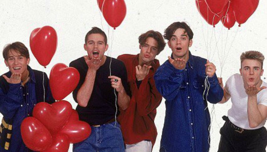Robbie Williams ha detto si: la reunion dei Take That si farà