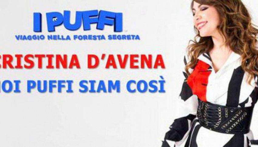 Cristina D'Avena canterà la nuova sigla dei Puffi