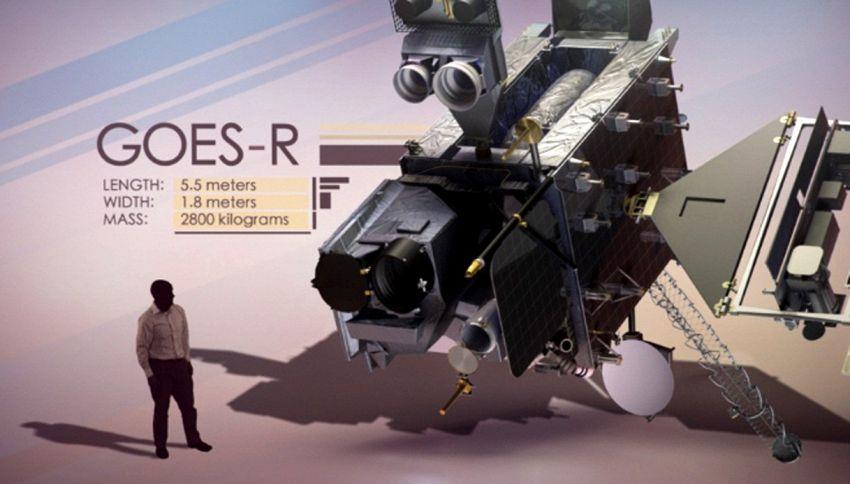 Il nuovo 'super occhio' della NASA per fulmini e tempeste