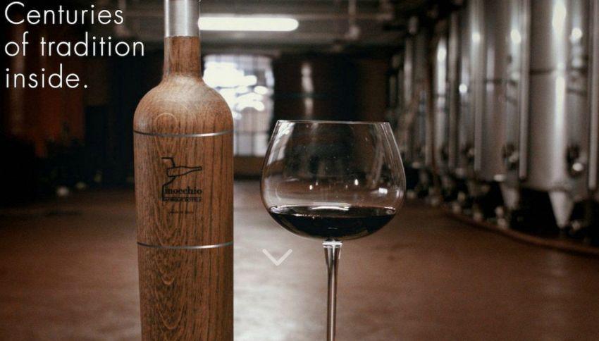 La bottiglia che trasforma il vino scarso in pregiato