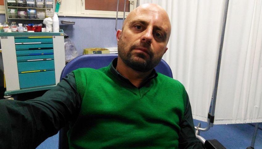 """Luca Abete picchiato: """"Grazie a chi mi ha salvato"""". Le immagini"""