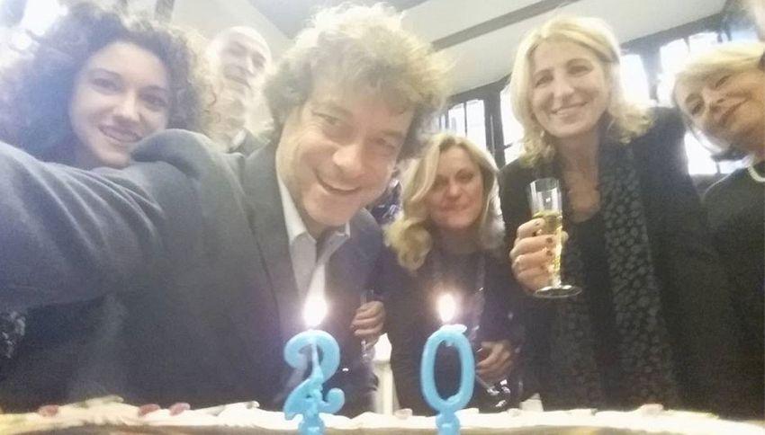 Alberto Angela ha un ottimo motivo per festeggiare (forse due)