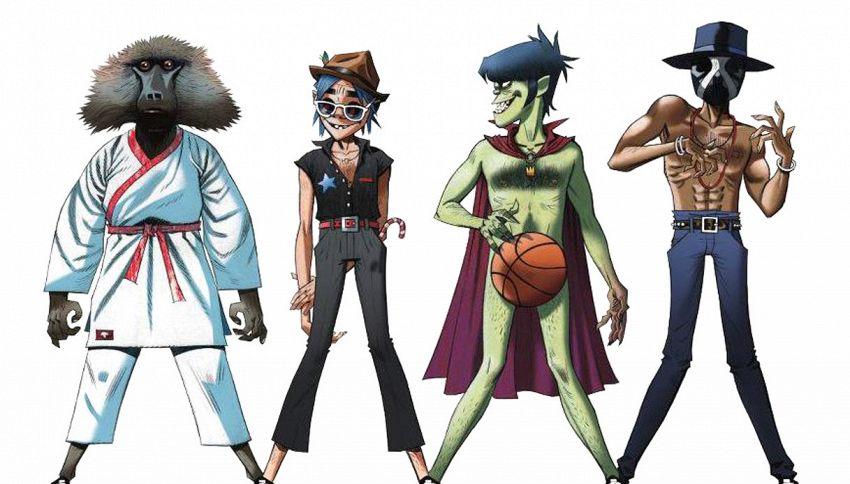 Il ritorno dei Gorillaz, la band a 'cartoni animati' più amata