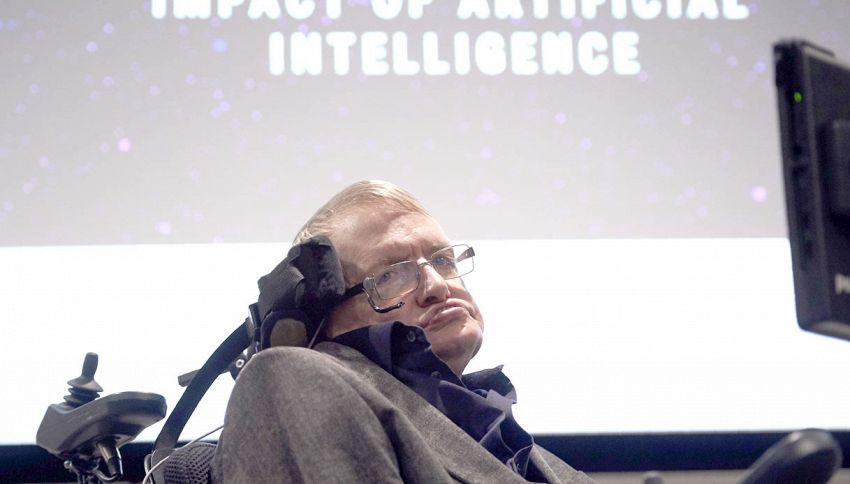 """Stephen Hawking, l'allarme del fisico: """"Ci estingueremo"""""""