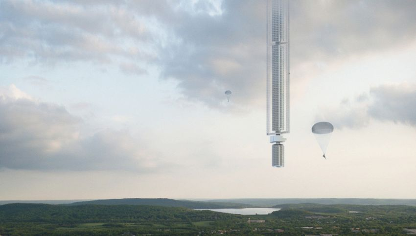 Un grattacielo nello spazio? Si può fare