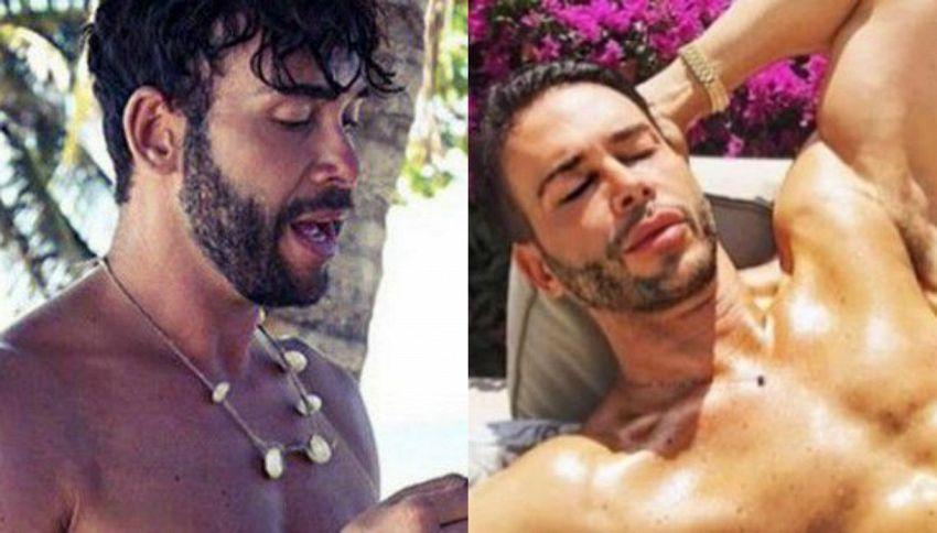 Giacomo Urtis: sesso sull'Isola con un uomo misterioso