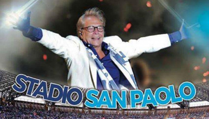 Nino D'Angelo, grande concerto allo stadio per i suoi 60 anni