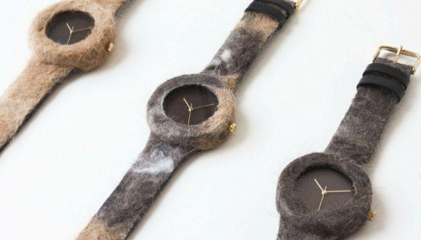 L'orologio fatto con i peli che perde il vostro gatto