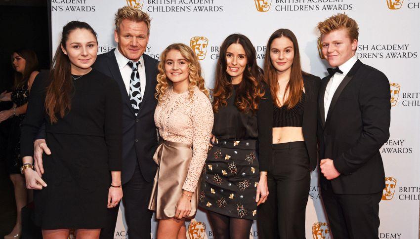 """Ramsay: """"Non lascerò la mia fortuna ai figli"""". Ecco perché"""