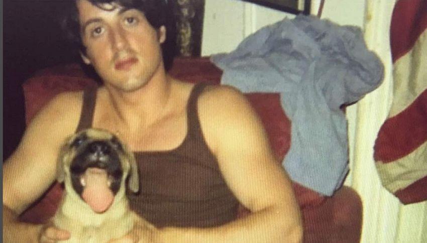 """Sylvester Stallone: """"Ero così povero da vendermi il cane"""""""