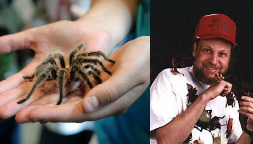 La storia dell'uomo che insegna agli insetti a recitare