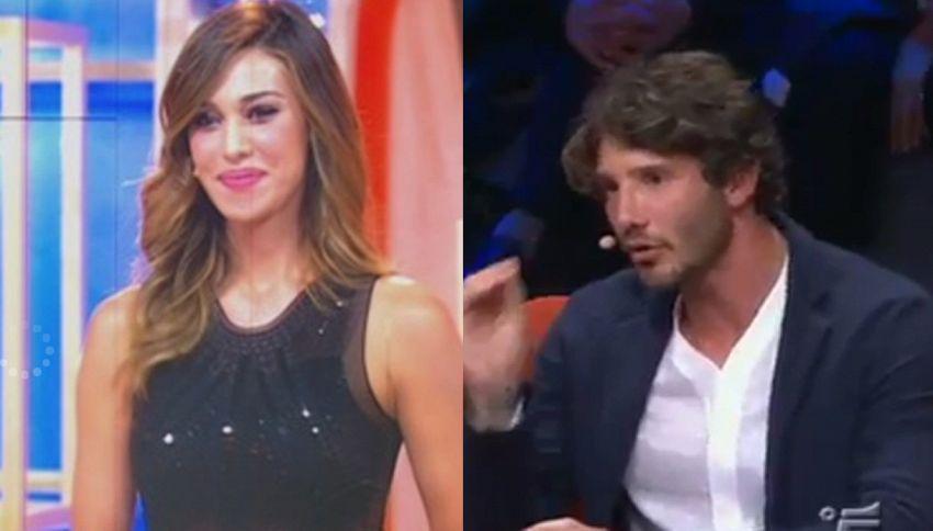 Distensione tra Belen e l'ex De Martino: merito di Simona Ventura
