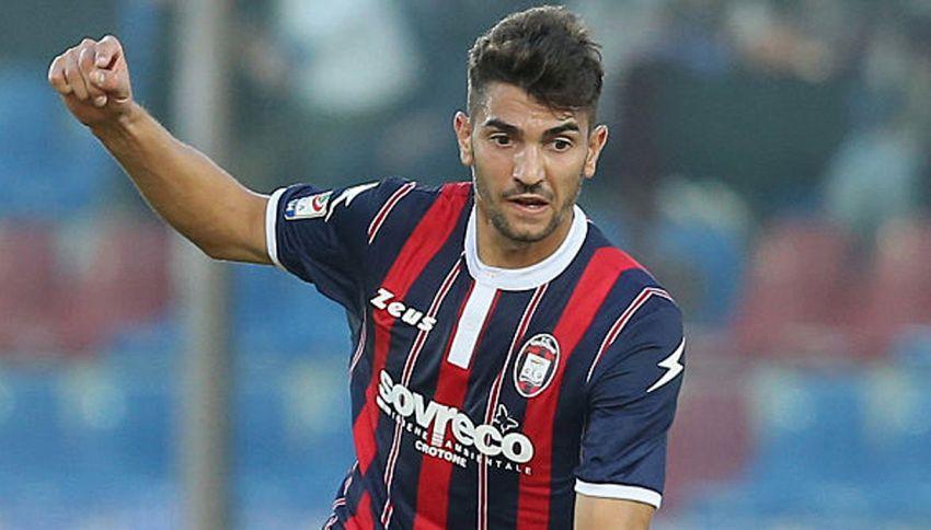 I primi due gol di Nalini, il calciatore-saldatore del Crotone