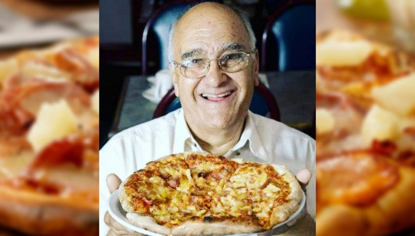 È morto il creatore della pizza con l'ananas