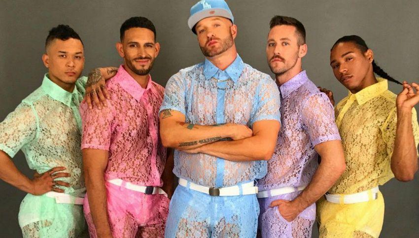 I vestiti in pizzo per uomo sono la nuova tendenza