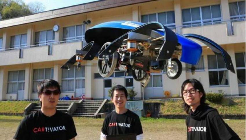 Primi test con l'auto che vola: la sfida Toyota