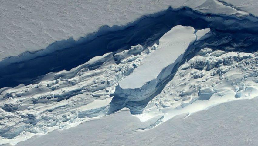 In Antartide si è staccato un iceberg grande come il Lazio