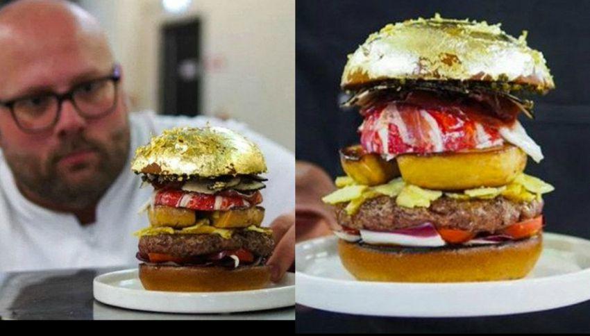 In Olanda arriva l'hamburger da 2mila dollari