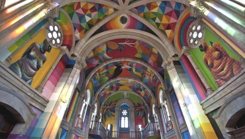 Kaos Temple: la chiesa trasformata in uno skatepark pubblico