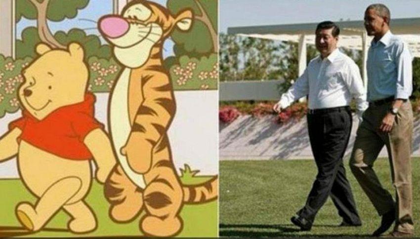 """Cina censura Winnie The Pooh: """"Offende il presidente"""""""