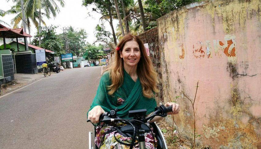 Fino all'Himalaya in sedia a rotelle: la storia di Simona