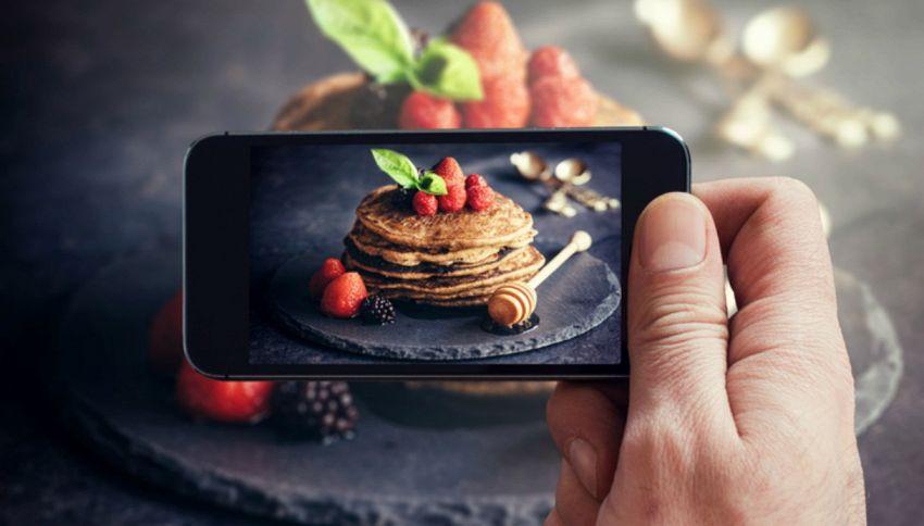 Da oggi per scoprire la ricetta basterà fare una foto al piatto
