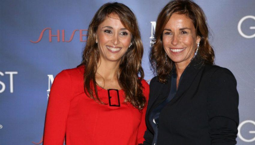 Cristina e Benedetta Parodi condurranno insieme Domenica In