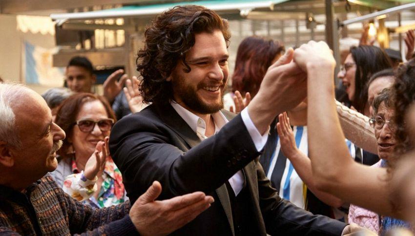 Cosa ci fanno i protagonisti di Game Of Thrones a Napoli?
