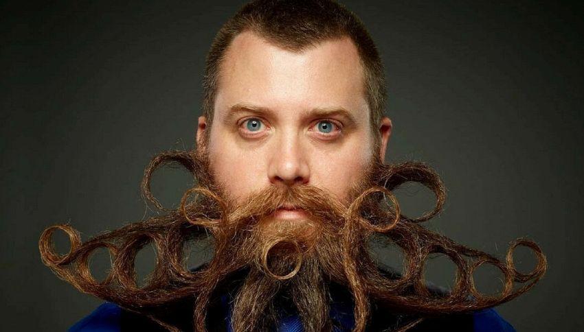 Il meglio e il peggio del campionato mondiale di barba e baffi