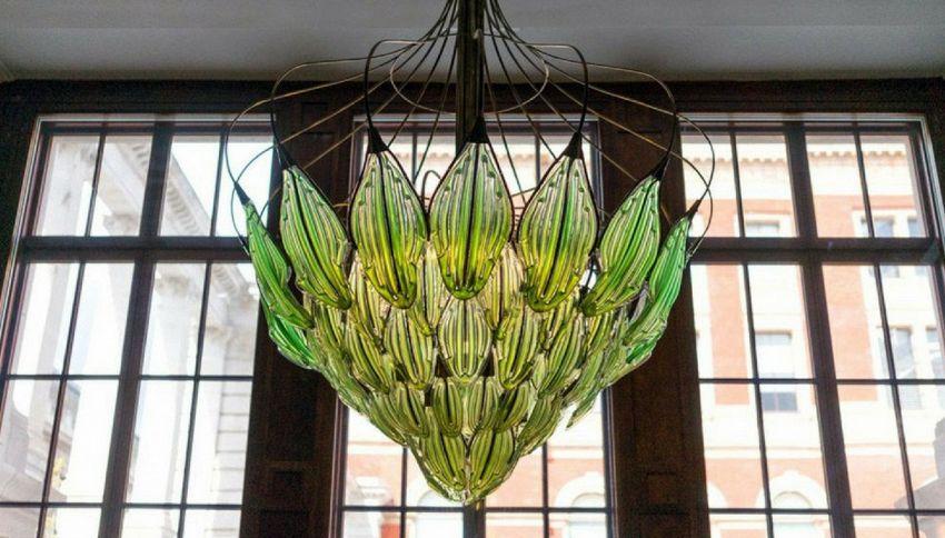 Ecco Exhale, il primo lampadario vivente